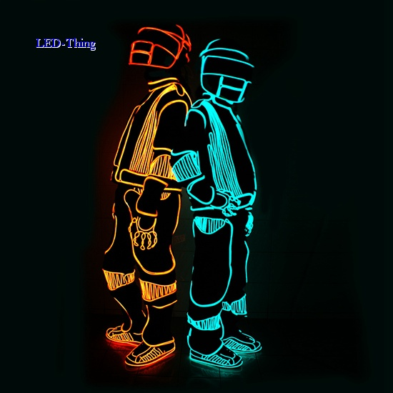 LED Thing - LED Costume for Entertainment Disco Ball Mirror Suits ... 574a5cd18